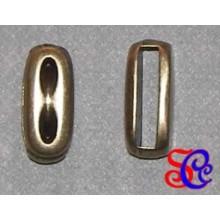 BRACELET oro viejo rectangular con marcas, para pulseras y colganes.