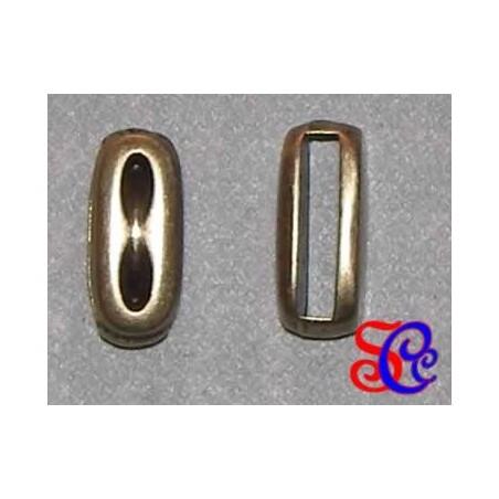 BRACELET oro viejo rectangular con marcas