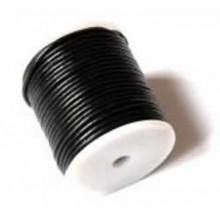 Rollo de cordón de cuero, 25 mts. 1 mm