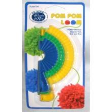 Maquina para hacer pompones kit de tres 3 tamaños
