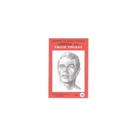 Laminas dibujo E. Freixas. Rostros masculinos nº 65