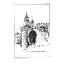 Laminas dibujo J. M. Bellalta. Castillos nº 102