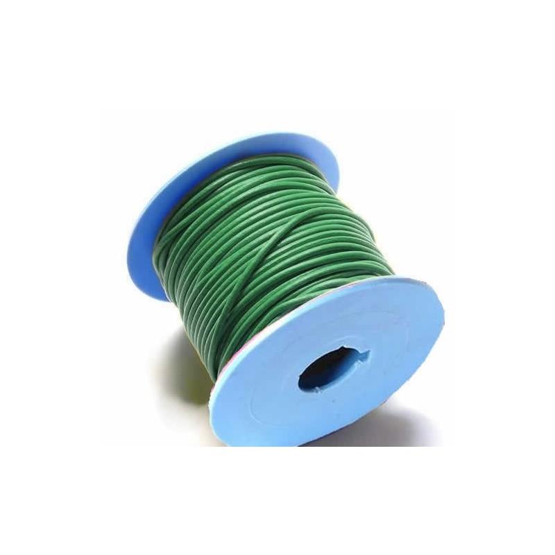 Rollo de cordon de cuero, 10 mts. 3  mm