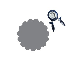 Perforadoras Squeeze Punch CIRCULO feston  5 cm