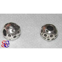 "Bola plata antigua ""Lunares"""