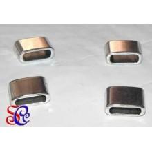 SEPARADOR rectangular 7 x 12  mm, plateado