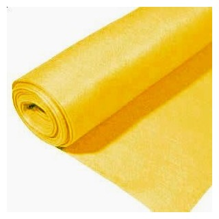 Rollo de fieltro 3mm, 90 cm x 5 metros amarillo