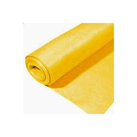 Rollo de fieltro 3mm, 90 cm x 5 metros amarillo