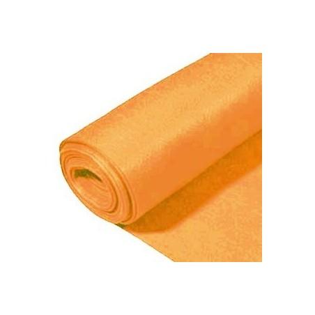 Rollo de fieltro 3mm, 90 cm x 5 metros naranja