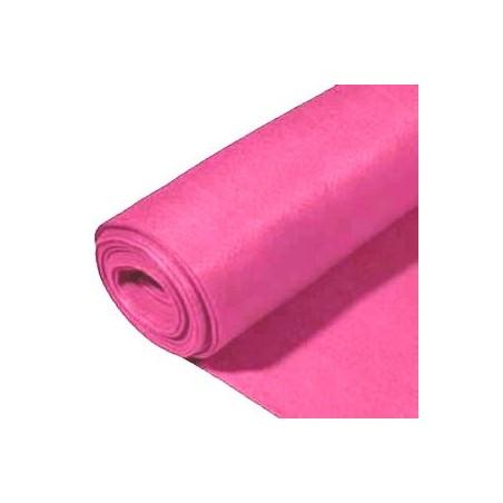 Rollo de fieltro 3mm, 90 cm x 5 metros rosa