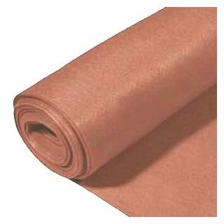 Rollo de fieltro 3mm, 90 cm x 5 metros marron claro