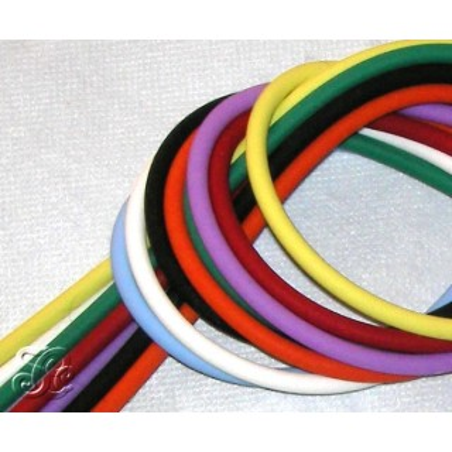 Cordones de caucho de colores