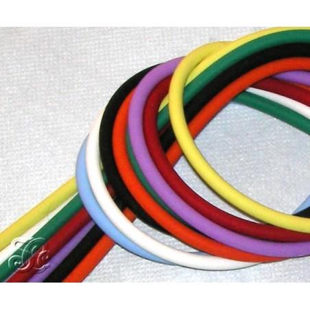 Cordones de caucho de colores 5 mm