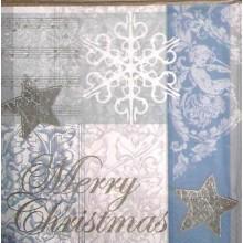 Servilleta decorada cosas de navidad