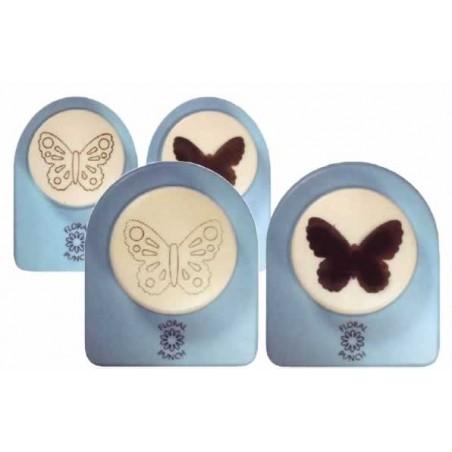 Perforadoras para goma eva cortar-marcar Mariposa, Pequeña