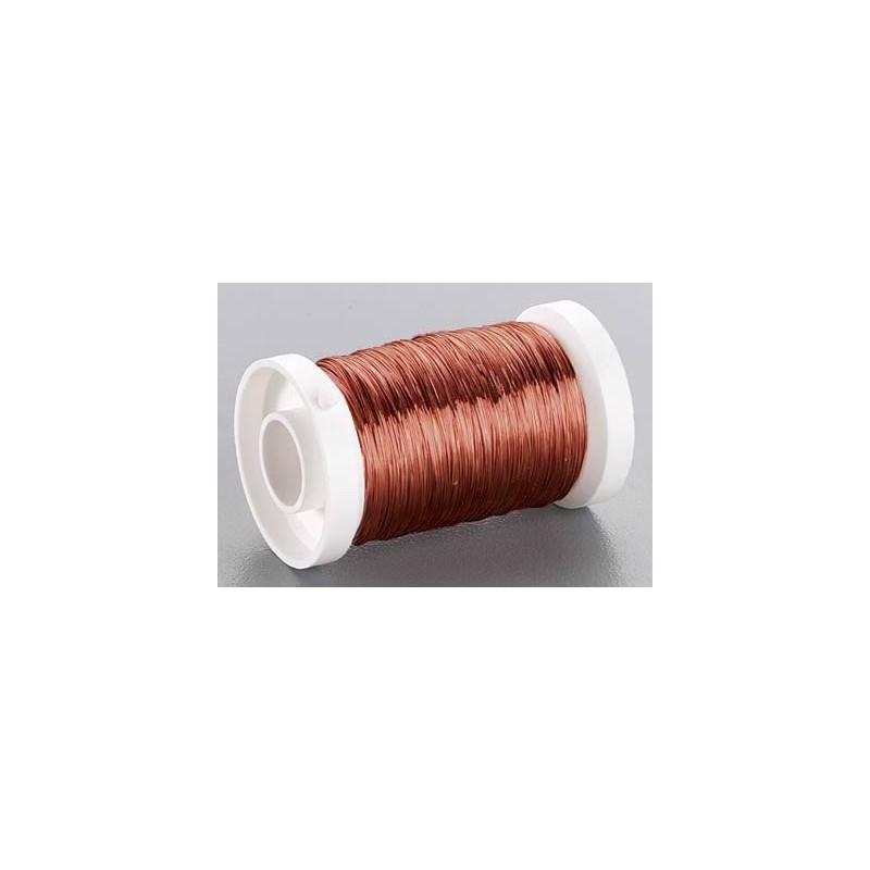 Bobina alambre marrón 0,3 mm 100 gr