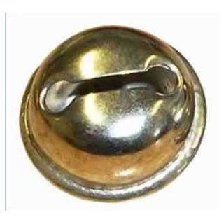 Cascabel, 15 mm, dorado o plateado 1 unidad