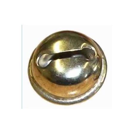 Cascabeles, 15 mm, 8 unidades, dorados o plateados