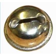 Cascabel 19 mm, 1 unidad dorado o plateado