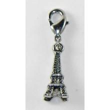 Charm con mosquetón Torre Eiffel
