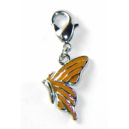 Charm con mosquetón Mariposa