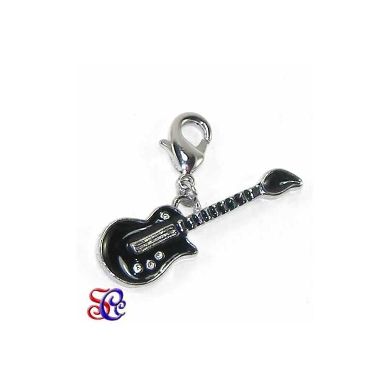 Charm con mosquetón Guitarra