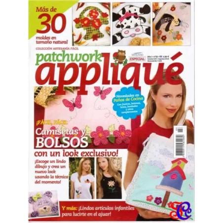 Revista Patchwork  Appliqué nº 3