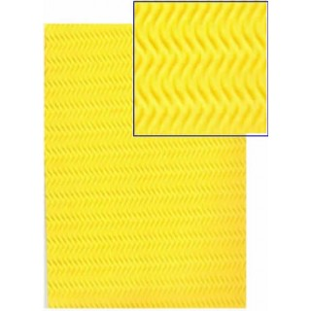 Goma eva con textura espiga amarilla