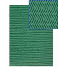 Goma eva con textura espiga verde