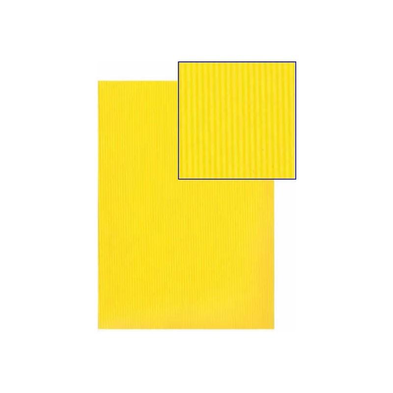 Goma eva con textura rayas, amarillo
