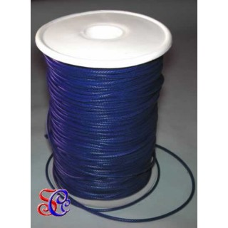 Cordón encerado Azul