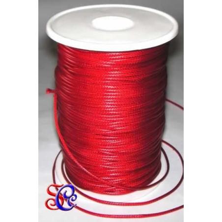 Cordón encerado Rojo