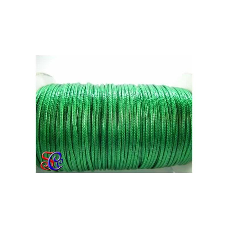 Cordón encerado Verde oscuro