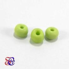 Bolsa de abalorios, rocalla verde claro