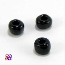 Bolsa de abalorios, rocalla Negro