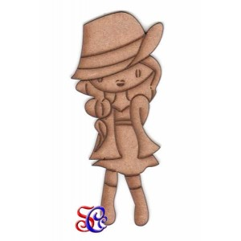 Dolly  con sombrero, silueta Dayka