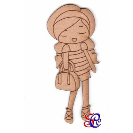 Dolly con bolso, silueta Dayka