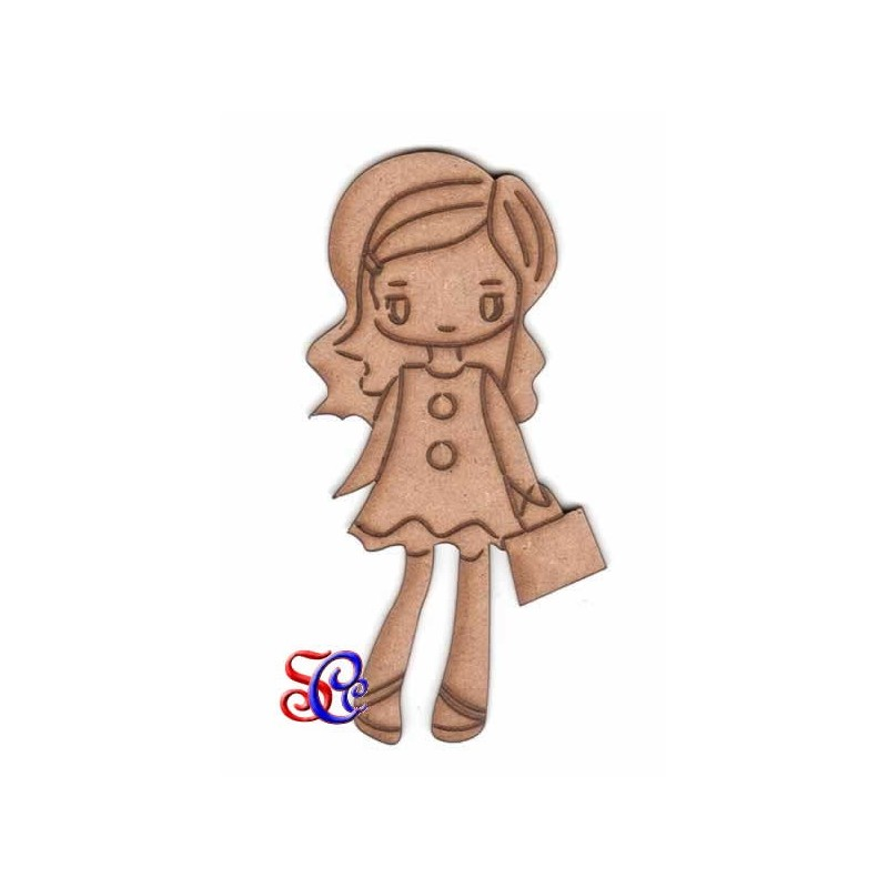 Dolly  de paseo, silueta Dayka