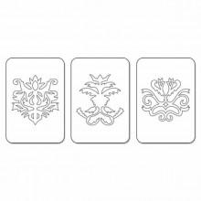 Troqueles juego de 3 Sizzlits conjunto de iconos decorartivos 2