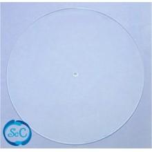 Base para esfera de matacrilato transparente 26 cm diametro