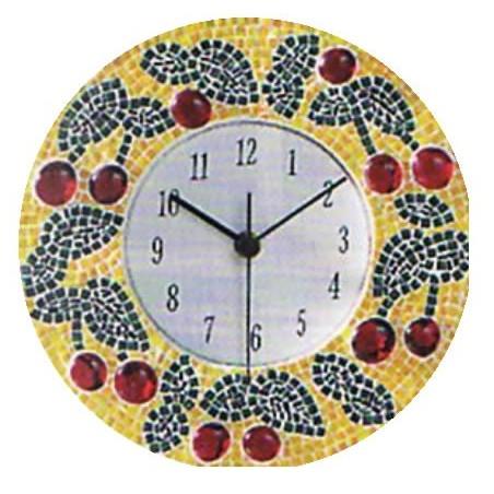 Esfera de de reloj de matacrilato transparente 21 cm diametro