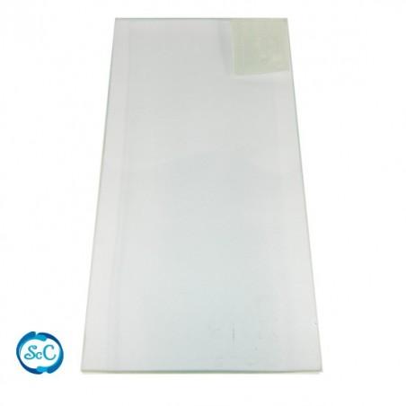 Bandeja cristal rectangular 25 x 12 cm