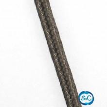 Cordón Soutache color marrón