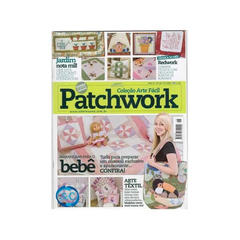 Revista Patchwork nº 26 Colección Arte Fácil (portugues)