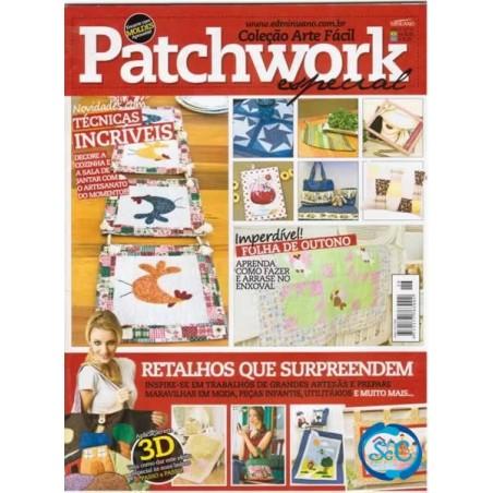 Revista Patchwork nº 26 ESPECIAL Colección Arte Fácil (portugues)