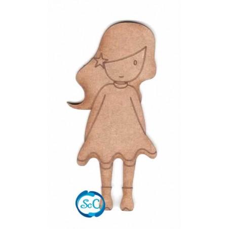 Dolly Estrella en el pelo, silueta Dayka