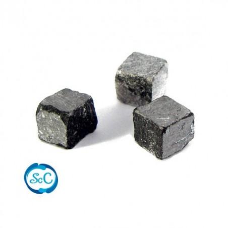 Teselas piedra natural para mosaico Negro