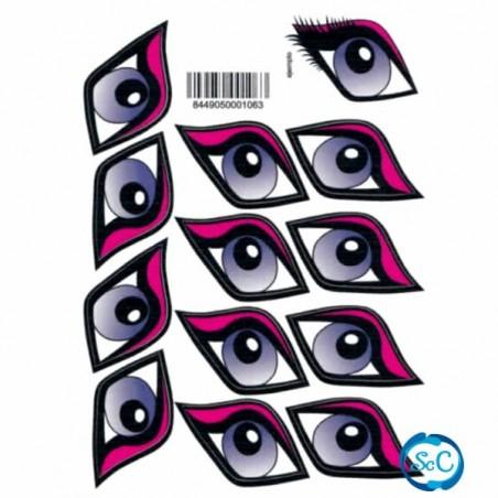 Ojos Diva adhesivos pegatina grandes