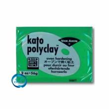 Pasta de modelar Kato polyclay Verde