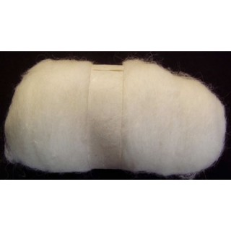 Madejas de fieltro de 100 gr. Blanca